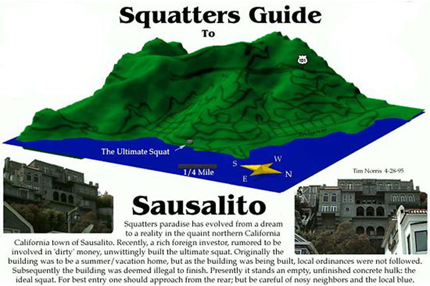 Squatters Guide to Sausalito