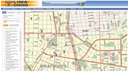 Lima 2000 Street Finder